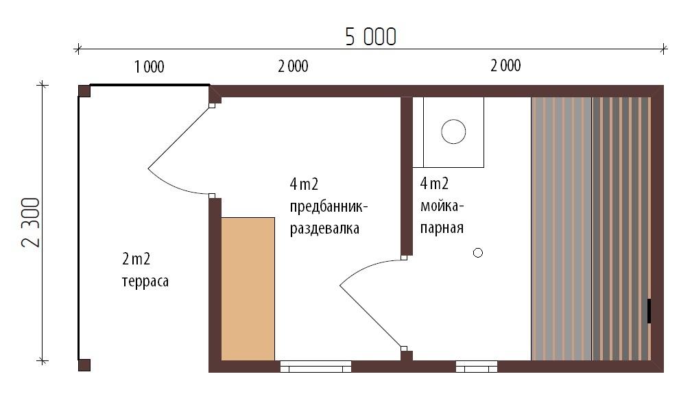 готовая баня с доставкой и установкой цена в москве